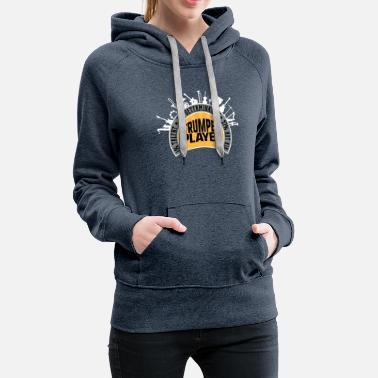 Trumpet Player 1% Talent 2% Determination 97% Hot - Women's Premium Hoodie
