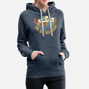 Square it's hip to be square squarebody gift - Women's Premium Hoodie