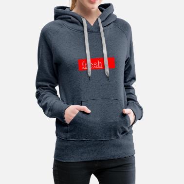 e14c59e1 Lit fresh modus summer design - Women's Premium Hoodie