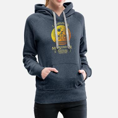 Cult I Survived Midsommar Festival Sweden 2020 Maypole - Women's Premium Hoodie