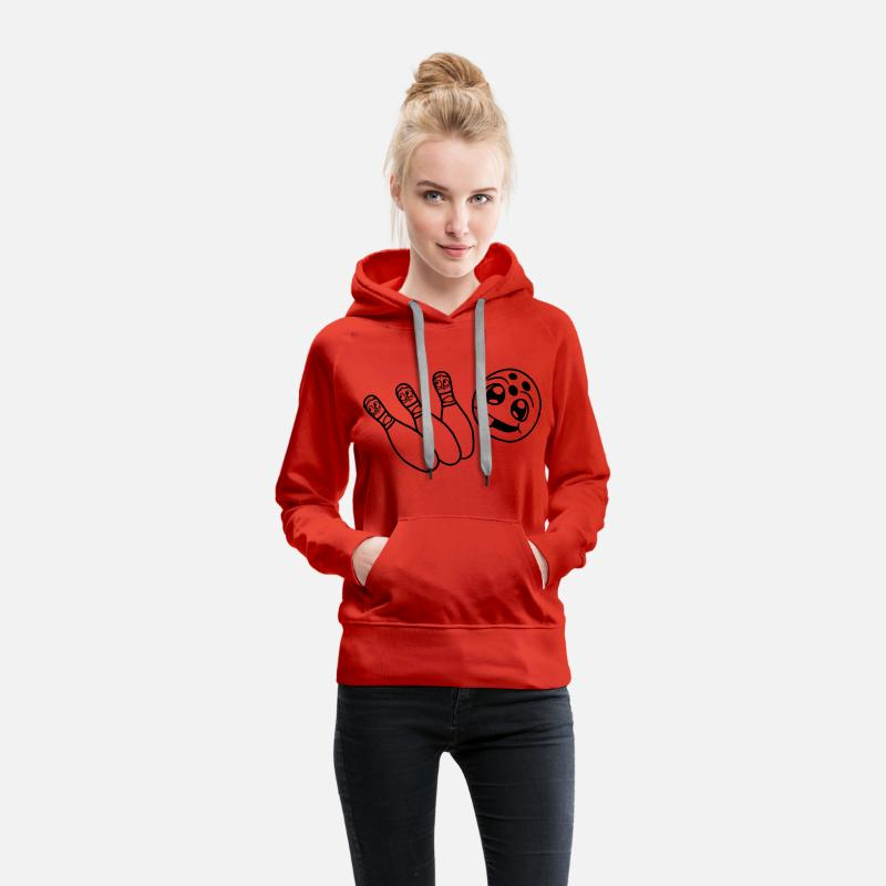 86c84e8cf5 hunt escape 3 friends team crew run away fear face Women s Premium Hoodie