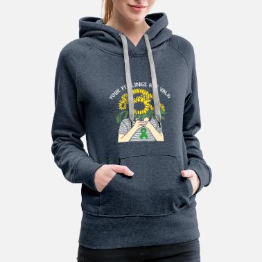 Mental Health Your Feelings Are Valid Mental Health Awareness - Women's Premium Hoodie
