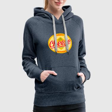 Cheese Custome Shirt Funny National Holloween - Women's Premium Hoodie