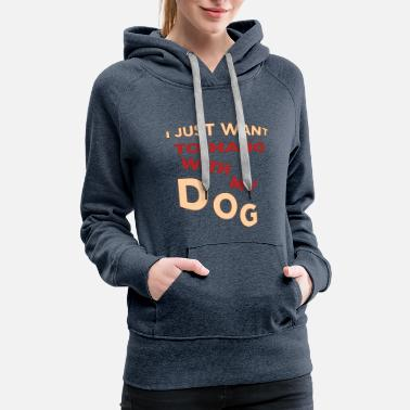 My Sister Is My Labrador Retriever Dog Dogs Labrador Retriever Pug Beagle Gift - Women's Premium Hoodie