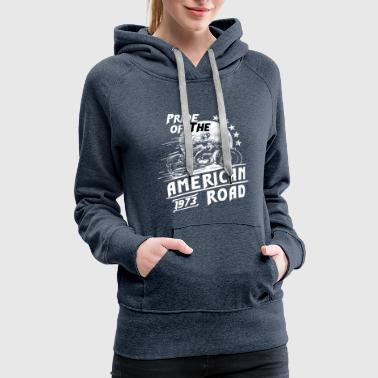 Pride Of the American Motorcycle - Women's Premium Hoodie