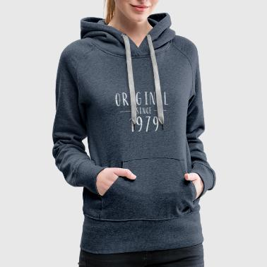Aged To Perfection Original since 1979 distressed - Born in 1979 - Women's Premium Hoodie