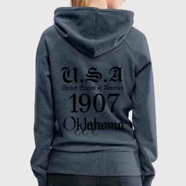 Oklahoma,United States of America, USA, United, - Women's Premium Hoodie