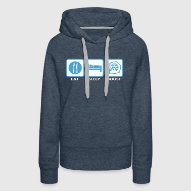 Eat Sleep Boost - Women's Premium Hoodie