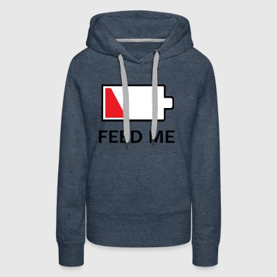 Feed Me Low Power - Women's Premium Hoodie