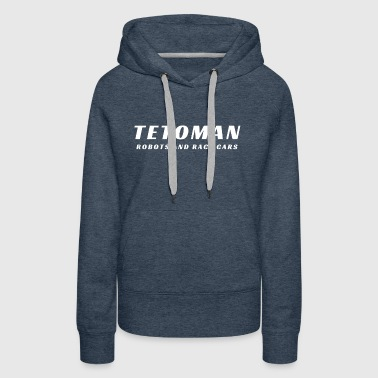 Robots and Race Cars - Women's Premium Hoodie
