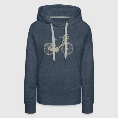 Bicycle (For Dark Garments) - Women's Premium Hoodie