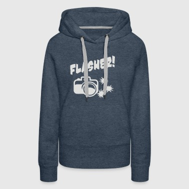 Photographer Flasher - Women's Premium Hoodie