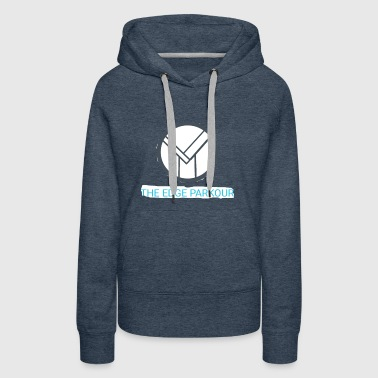 The edge parkour ( clean ) - Women's Premium Hoodie