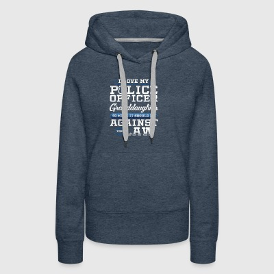 Love Police Granddaughter Law Enforcement Apparel - Women's Premium Hoodie