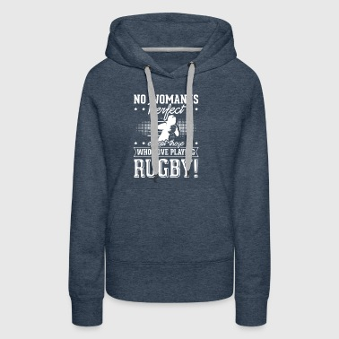 Rugby Women are perfect t shirt gift sports - Women's Premium Hoodie