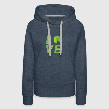 Neo Cryptocurrency logo - Women's Premium Hoodie
