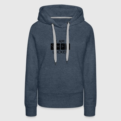I AM SHER LOCKED - Women's Premium Hoodie