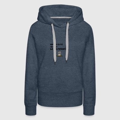 Moment of silence - Women's Premium Hoodie
