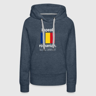 Romanian superpower - Women's Premium Hoodie