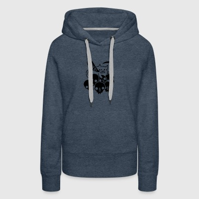 Cat Got Your Soul - Women's Premium Hoodie