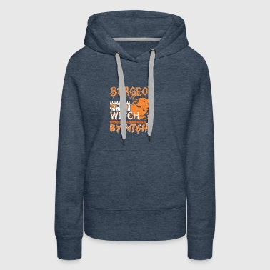 Surgeon By Day Witch By Night Halloween - Women's Premium Hoodie