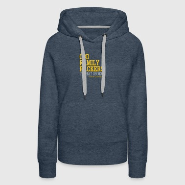 God Family Packers In That Order - Women's Premium Hoodie