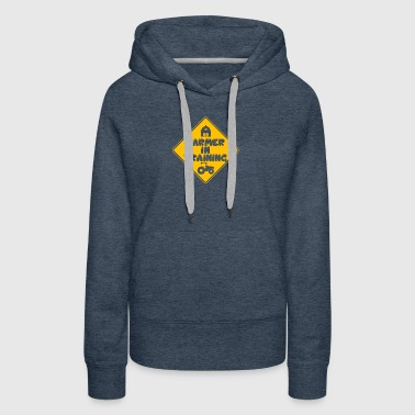 New Design Farmer In Training Best Seller - Women's Premium Hoodie