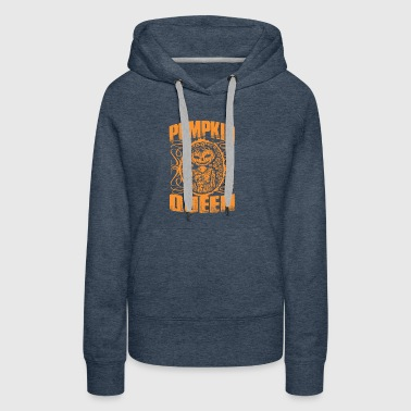 Pumpkin Queen Halloween - Women's Premium Hoodie