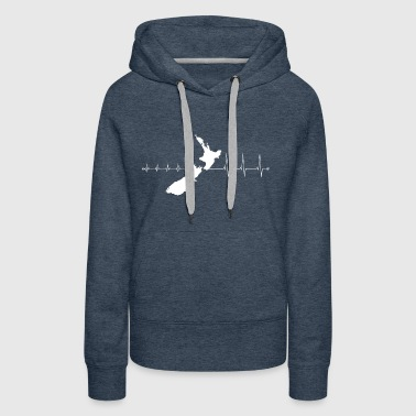 T-Shirt New Zealand - I love New Zealand - Women's Premium Hoodie