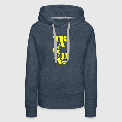 Tragedy step - Women's Premium Hoodie