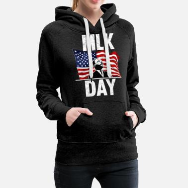 Freedom Fighters MLK DAY Black History Month T shirt - Women's Premium Hoodie