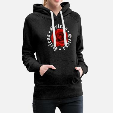 Selena Red rose - Women's Premium Hoodie