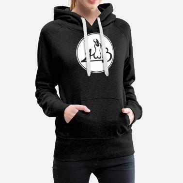 AVERAGE WHITE BAND VINTAGE - Women's Premium Hoodie