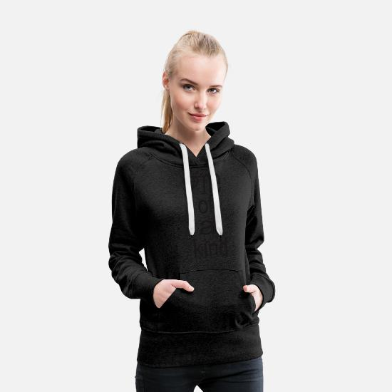One Night Stand Hoodies & Sweatshirts - One of a Kind - Women's Premium Hoodie charcoal gray