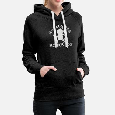 Teenager Monkey Teenage - Women's Premium Hoodie