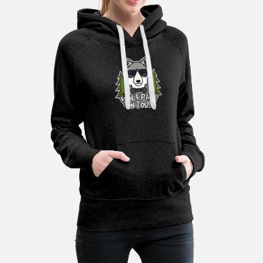 On Tour Wolfpack on tour - Women's Premium Hoodie