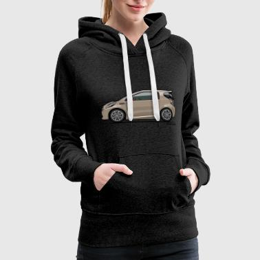 AM Cygnet Blonde Metallic Micro Car - Women's Premium Hoodie