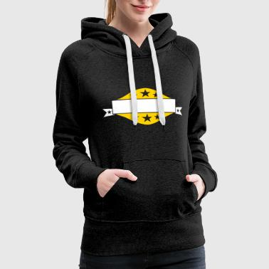 stars writing blank space frame crew legends are b - Women's Premium Hoodie