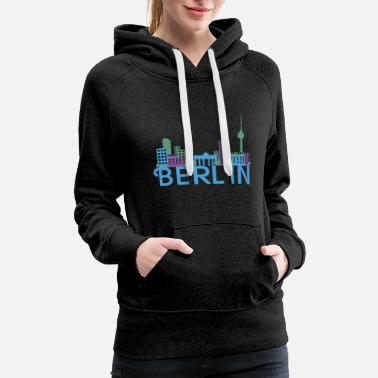 Skyline Of Berlin Skyline Berlin - Women's Premium Hoodie