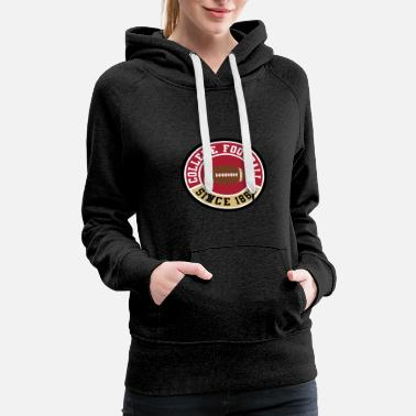 College Football College football Shirt - Women's Premium Hoodie