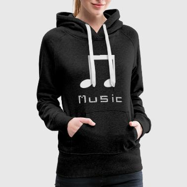 Music Video Music - Women's Premium Hoodie