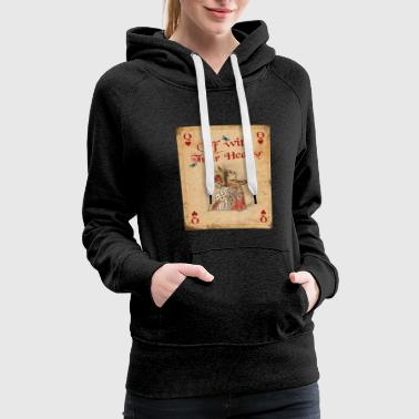 Alice in Wonderland The Queen of Hearts - Women's Premium Hoodie