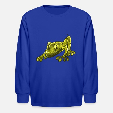 Infectious The Infectious Frog - Kids' Longsleeve Shirt
