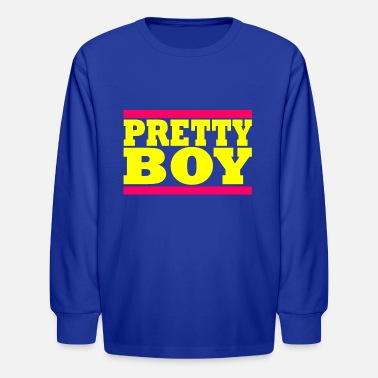Pretty Boy Pretty Boy - Kids' Longsleeve Shirt