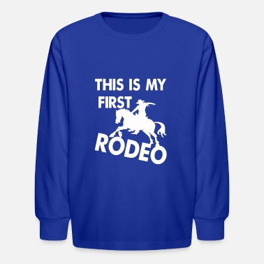 Rodeo Rodeo, riding, western, T-shirt - Kids' Longsleeve Shirt