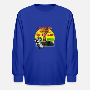 Fps Russia Radioactive Warning - Kids' Longsleeve Shirt