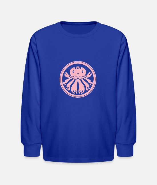 Wolverines Long-Sleeved Shirts - Hail Clara - Kids' Longsleeve Shirt royal blue