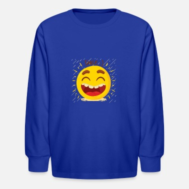 Laughs Laugh Laugh Happy - Kids' Longsleeve Shirt