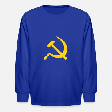 Fps Russia Yellow Hammer & Sickle - Kids' Longsleeve Shirt