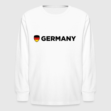 National Flag of Germany - Kids' Long Sleeve T-Shirt